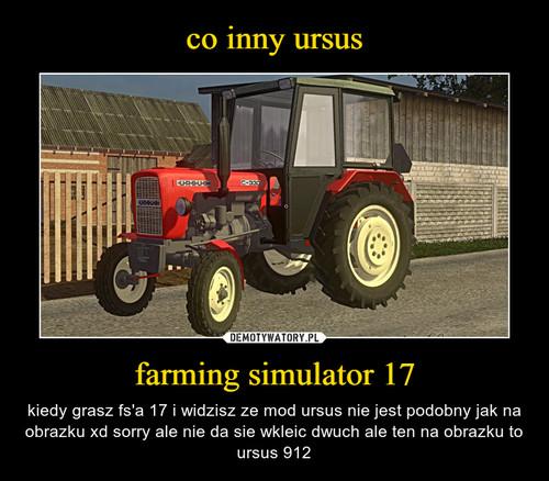 co inny ursus farming simulator 17