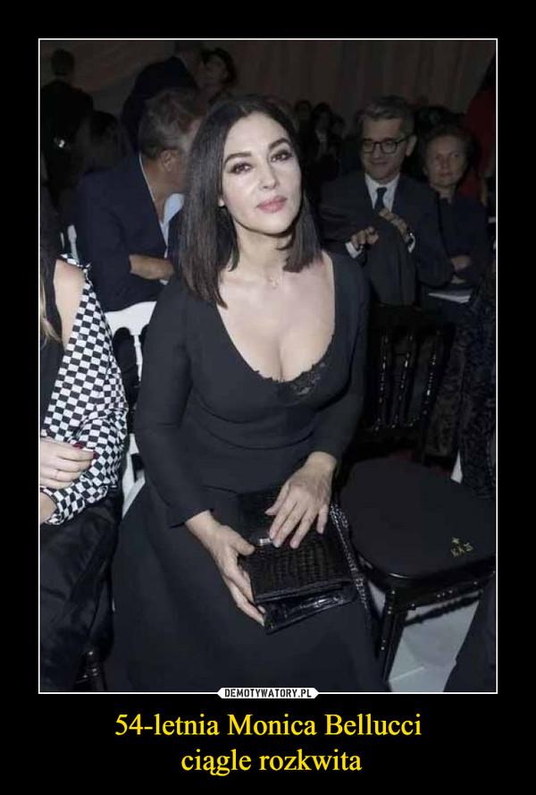 54-letnia Monica Bellucci ciągle rozkwita –