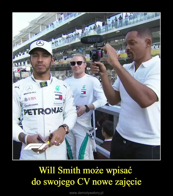 Will Smith może wpisać do swojego CV nowe zajęcie –