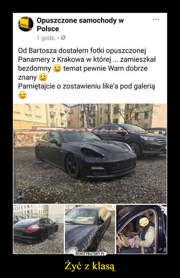 Żyć z klasą –  Opuszczone samochody w Polsce 1 godz. • O Od Bartosza dostałem fotki opuszczonej Panamery z Krakowa w której ... zamieszkał bezdomny temat pewnie Wam dobrze znany Pamiętajcie o zostawieniu like'a pod galerią