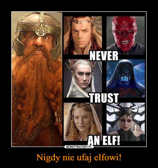 Nigdy nie ufaj elfowi! –
