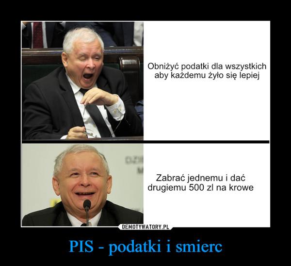 PIS - podatki i smierc –