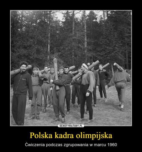 Polska kadra olimpijska