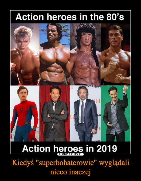 """Kiedyś """"superbohaterowie"""" wyglądali nieco inaczej –"""