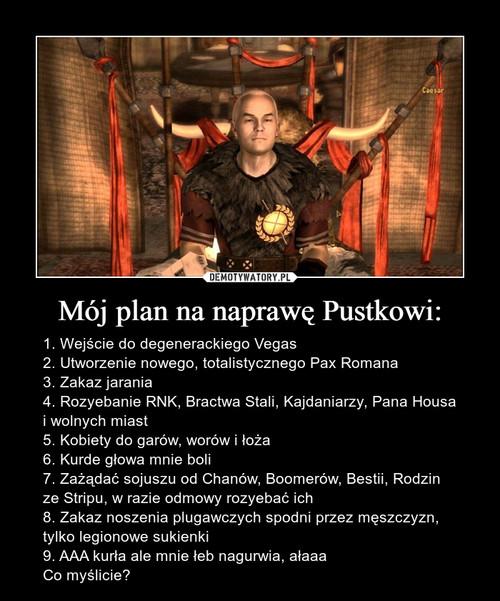 Mój plan na naprawę Pustkowi: