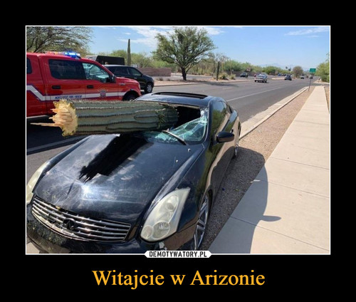Witajcie w Arizonie