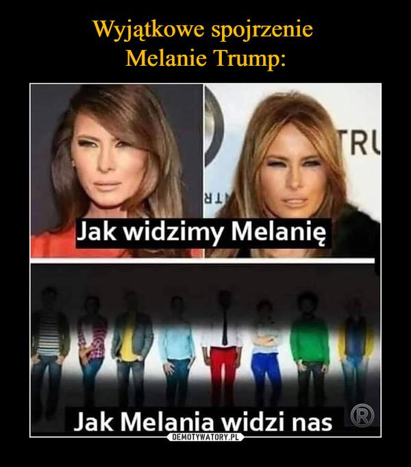 –  Jak widzimy MelanięJak Melania widzi nas