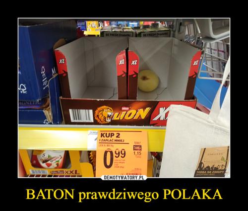 BATON prawdziwego POLAKA