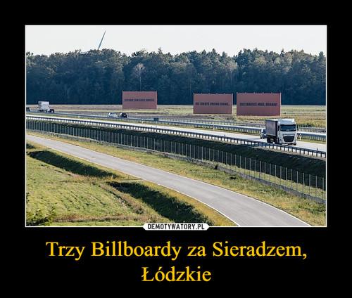 Trzy Billboardy za Sieradzem, Łódzkie