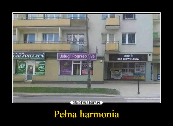 Pełna harmonia –