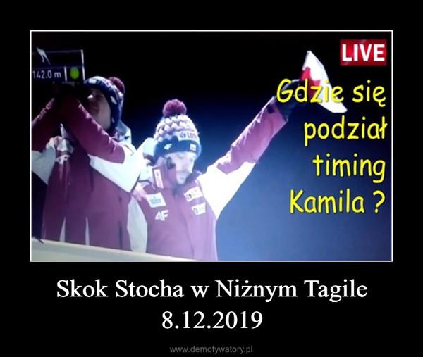 Skok Stocha w Niżnym Tagile 8.12.2019 –