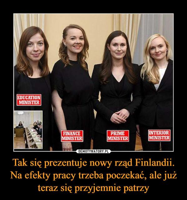 Tak się prezentuje nowy rząd Finlandii. Na efekty pracy trzeba poczekać, ale już teraz się przyjemnie patrzy –