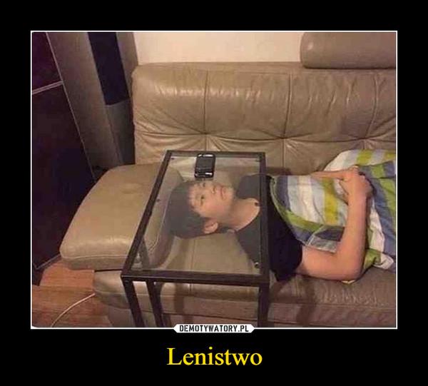 Lenistwo –