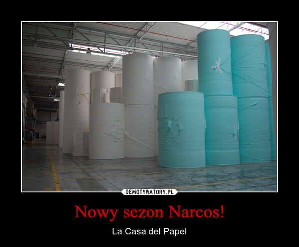 Nowy sezon Narcos! – La Casa del Papel