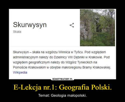 E-Lekcja nr.1: Geografia Polski.