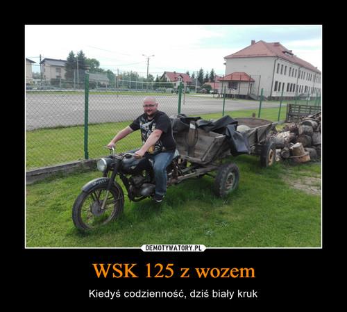 WSK 125 z wozem
