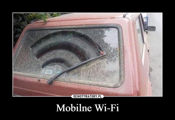 Mobilne Wi-Fi –