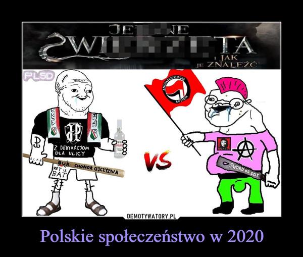 Polskie społeczeństwo w 2020 –