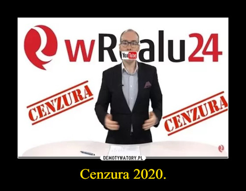 Cenzura 2020.