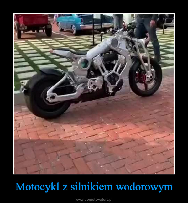 Motocykl z silnikiem wodorowym –
