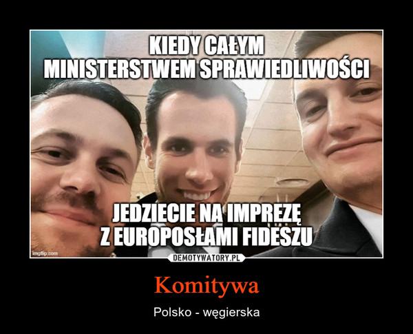 Komitywa – Polsko - węgierska