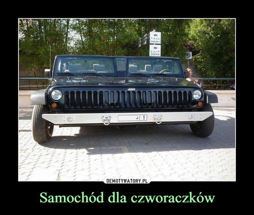 Samochód dla czworaczków