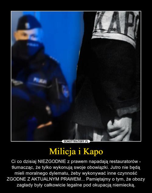 Milicja i Kapo