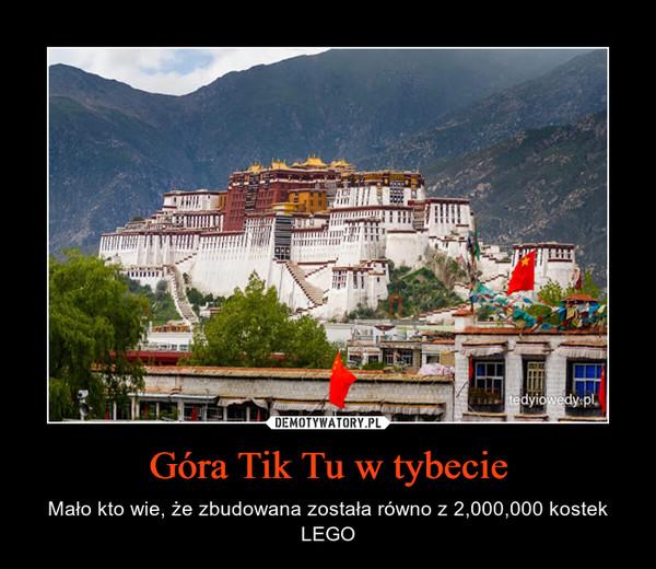 Góra Tik Tu w tybecie