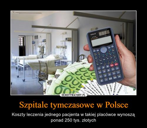 Szpitale tymczasowe w Polsce