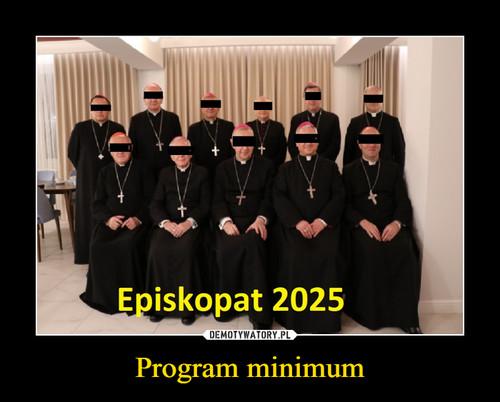 Program minimum