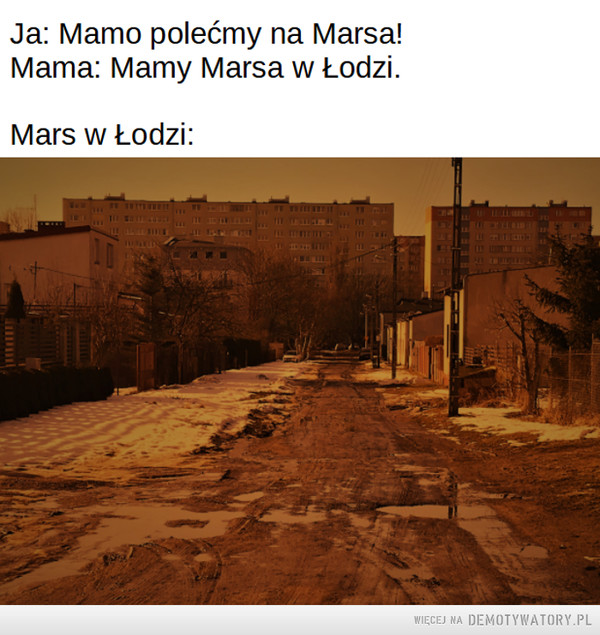 Mars w Łodzi –
