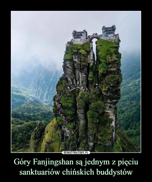 Góry Fanjingshan są jednym z pięciu sanktuariów chińskich buddystów –