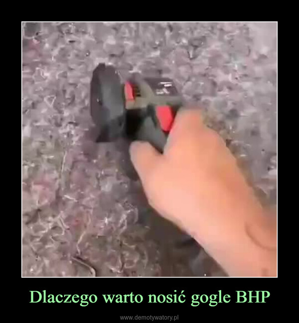 Dlaczego warto nosić gogle BHP –