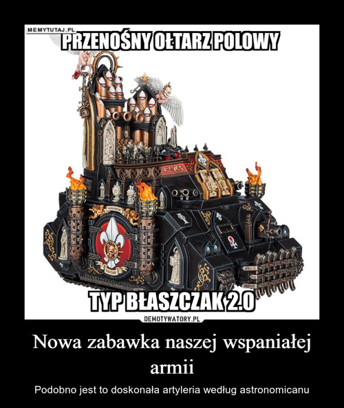 Nowa zabawka naszej wspaniałej armii