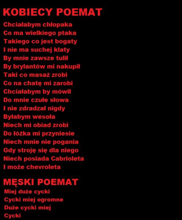 0eca7668545e80 Kobiety vs. mężczyźni – Demotywatory.pl